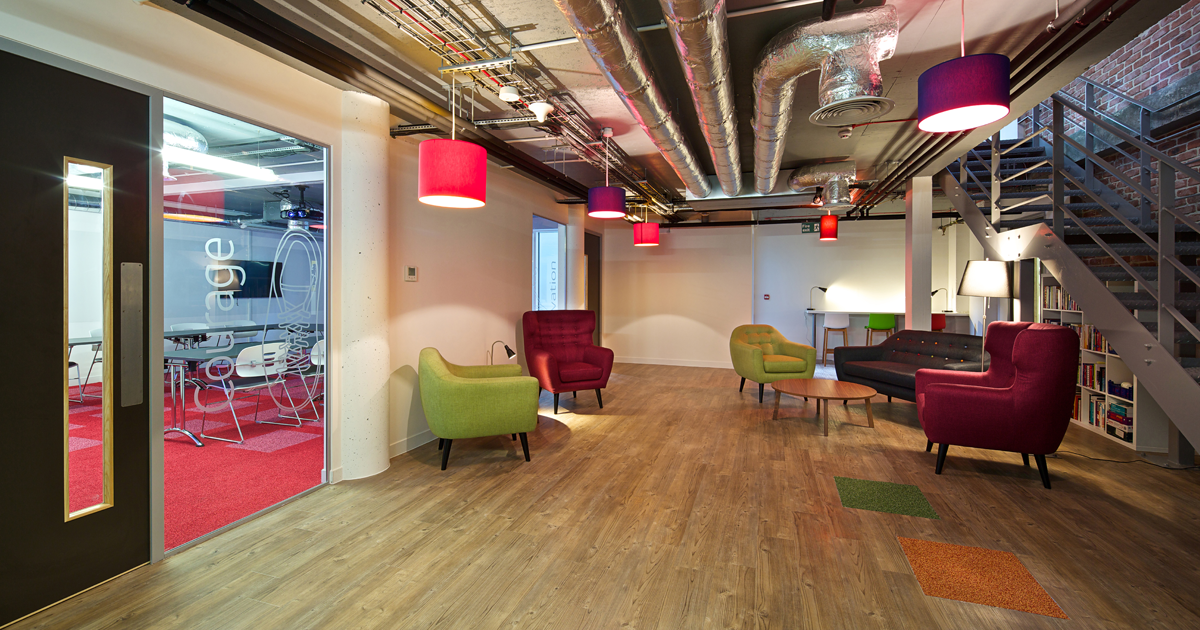 Meeting room hire now available at our new n1 london offices for Cool office reception